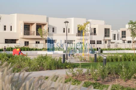 3 Bedroom Townhouse for Sale in Town Square, Dubai - Ready Townhouse Living In Best Price