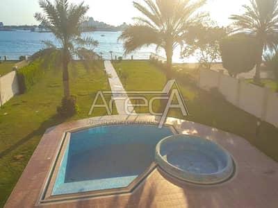 4 Bedroom Villa for Rent in Marina Village, Abu Dhabi - Great Villa! Stylish Sea Front 4 Bed Royal Marina Villa Rental! VIP Residence