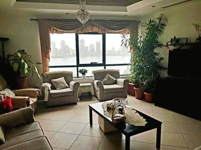 3 Bedroom Apartment for Sale in Al Majaz, Sharjah - Furnished 3BR Apartment With Full Lake View