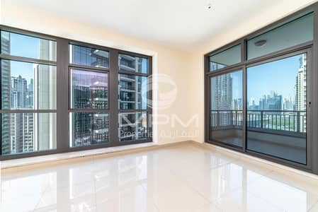 2 Bedroom Apartment for Rent in Downtown Dubai, Dubai - Spacious  2 Bedroom with Study  for Rent in Claren