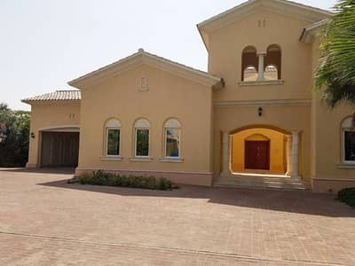 6 Bedroom Villa for Sale in Arabian Ranches, Dubai - Golf Course View- Golf HomesType C- 6 bed+maids+drivers