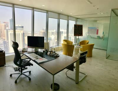 Fitted and furnished elegant office rent