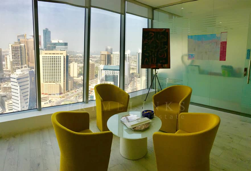 2 Fitted and furnished elegant office rent
