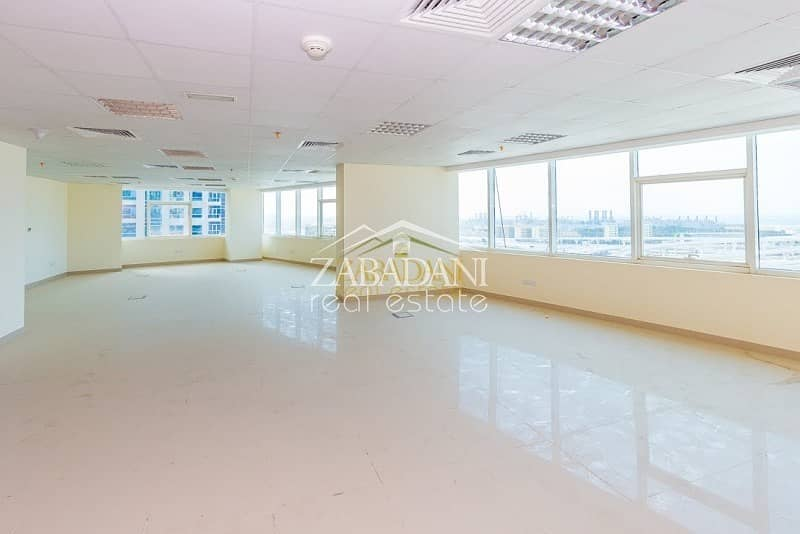 2 Vacant Full floor With 8 Individual Fitted Offices in JLT