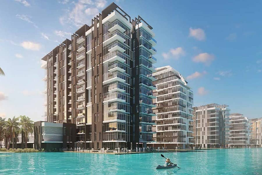 1 Residences in Crystal Lagoons - District One | MBR City