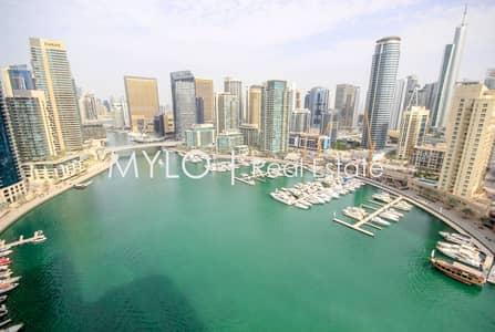 3 Bedroom Apartment for Rent in Dubai Marina, Dubai - Furnished/Unfurnished   Full Marina View