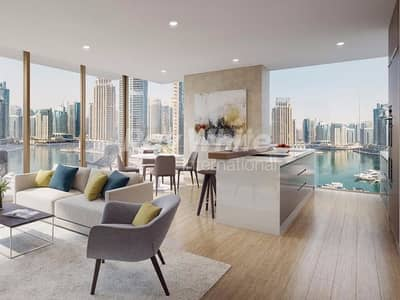 Largest 3 Bed Layout w/ Full Marina View