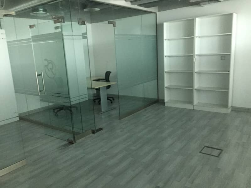 Furnished Ready to Move Office Space in Dome Tower