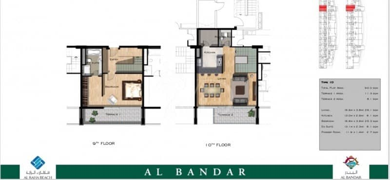 2 Snap up a 1 bed duplex. Only 2 built in Bandar
