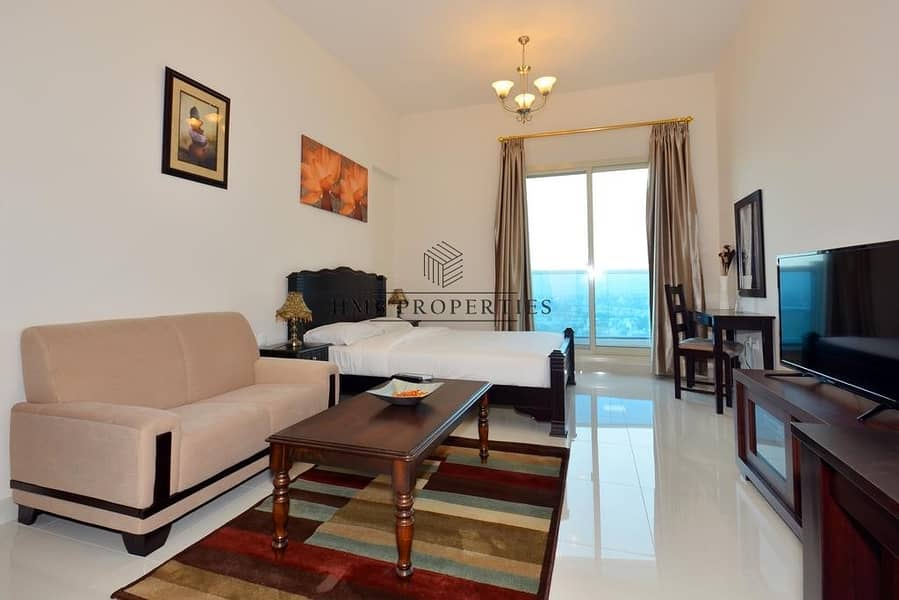 2 Full Furnished Studio with Golf View  Elite 4