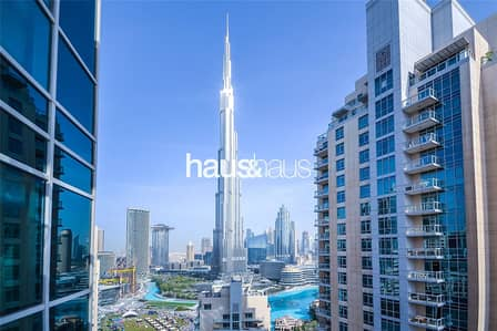 Full Burj Khalifa view | Spacious layout
