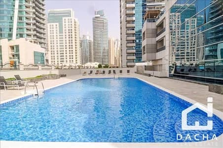 1 Bedroom Apartment for Rent in Dubai Marina, Dubai - UNFURNISHED 1 BED APARTMENT AT MARINA DIAMOND 4