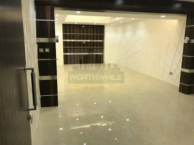 7 Bedroom Villa for Rent in Al Nahyan, Abu Dhabi - Brand new  large 7Master bedrooms villa with outside big kitchen