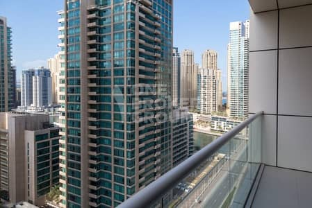 1 Bedroom Apartment for Rent in Dubai Marina, Dubai - One Bedroom Unfurnished With Marina Views