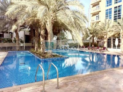 2 Bedroom Flat for Rent in Dubai Marina, Dubai - Large 2BR next to metro with free chiller