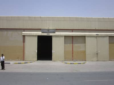 Warehouse for Rent in Al Saja, Sharjah - Warehouse for rent for just 110,000  AED