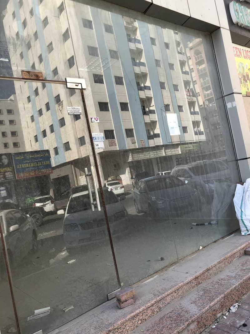 2 FOR RENT - SHOP- IN AJMAN NUAIMYAH- KUWAIT STREET IN GOOD AREA