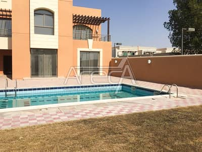 5 Bedroom Villa for Rent in Between Two Bridges (Bain Al Jessrain), Abu Dhabi - Luxurious 5 Bed Villa with Private Pool! Shared Facilities! Between Two Bridges