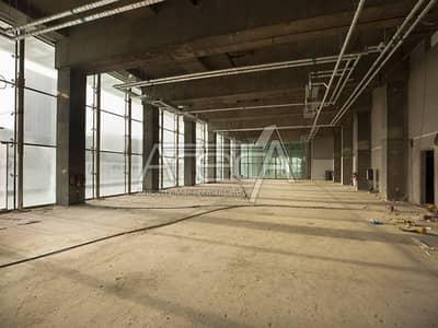 Showroom for Rent in Al Reem Island, Abu Dhabi - Brand New Core & Shell Showroom for Rent in Al Reem Island!