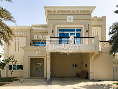 4 Bedroom Villa for Rent in Marina Village, Abu Dhabi - Stunning, Luxurious 4 Master Bed Royal Marina Villa! Private Marina