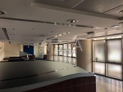 Showroom for Rent in Al Khalidiyah, Abu Dhabi - Strategic Showroom! Full Fitted Ground, Mezz Floor in Al Khalidiya