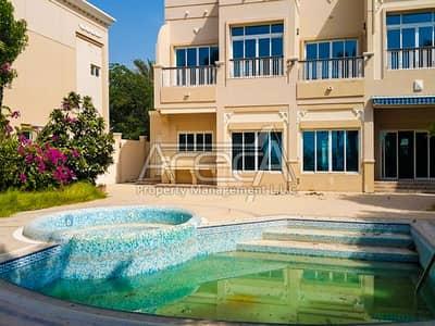 4 Bedroom Villa for Rent in Marina Village, Abu Dhabi - Exquisite, Sea Front 4 Master Bed Villa! Royal Marina Villas