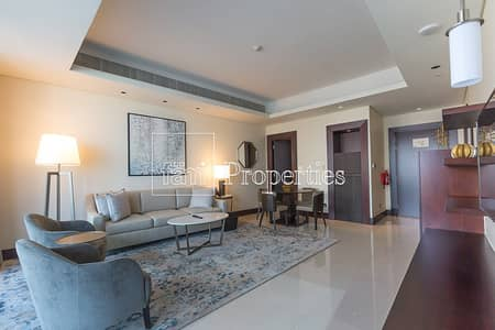 1 Bedroom Apartment for Rent in Downtown Dubai, Dubai - Elegantly Furnished Brand New Bills Paid