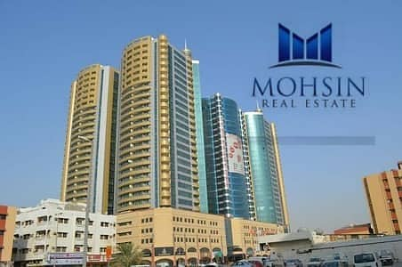 Office for Sale in Ajman Downtown, Ajman - 908 Sq ft Office With Partition Available For Sale in Horizon Tower