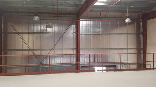 Warehouse for Rent in Dubai Industrial Park, Dubai - 8,000 sq ft. warehouse available for rent now