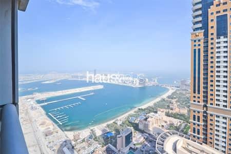 شقة 2 غرفة نوم للايجار في دبي مارينا، دبي - Princess Tower    Separate Kitchen/Diner