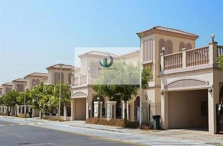 2 Bedroom Townhouse for Rent in Jumeirah Village Triangle (JVT), Dubai - Spacious Large 2 Bedroom + Maid Townhouse for rent in District 7