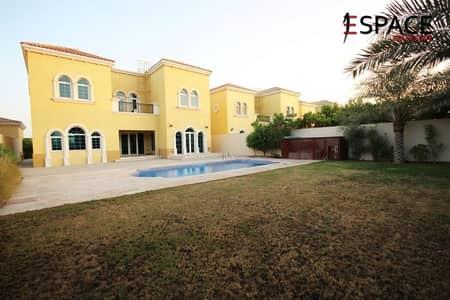 3 Bedroom Villa for Rent in Jumeirah Park, Dubai - Vacant Now - District 5 - Close to Park