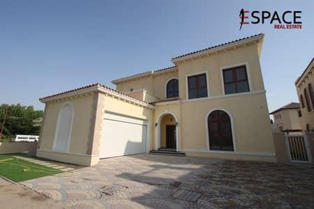 6 Bedroom Villa for Rent in Jumeirah Golf Estate, Dubai - Luxury 4 Bed Plus plus Maids