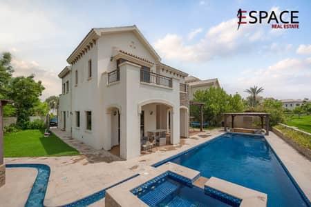 4 Bedroom Villa for Rent in Jumeirah Golf Estate, Dubai - Huge Plot   Upgraded Garden  Must See