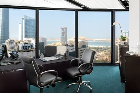 Office for Rent in Corniche Area, Abu Dhabi - Spacious and Premium Office in World Trade Center with Spectacular Views
