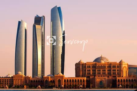 Office for Rent in Corniche Road, Abu Dhabi - Limited Offer on a Spacious Office with Beautiful Views in Etihad Towers