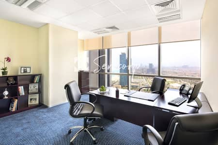 Office for Rent in Corniche Road, Abu Dhabi - 5 Star Office with Amazing Views in the Luxurious Etihad Towers