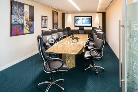 Office for Rent in Corniche Area, Abu Dhabi - Special Offer on a Deluxe Office in World Trade Center with Stunning Views