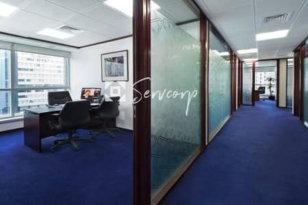 Office for Rent in Sheikh Khalifa Bin Zayed Street, Abu Dhabi - Special Offer on a Spacious and Premium Office in Al Mamoura B