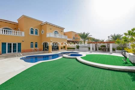 5 Bedroom Villa for Rent in Jumeirah Park, Dubai - Upgraded villa | Stunning Pool | Jacuzzi