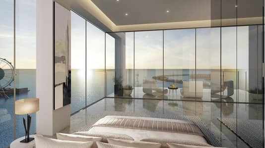 2 Bedroom Apartment for Sale in Jumeirah Beach Residence (JBR), Dubai - Panoramic  Sea Views  with Private Beach