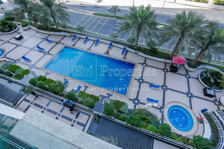 2  Sea View 2BR + Maid's for Sale