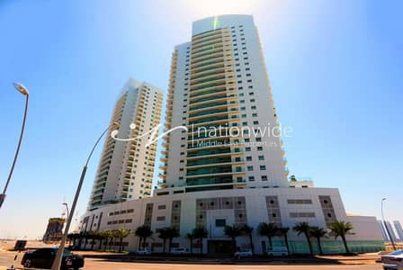 2 Bedroom Flat for Sale in Al Reem Island, Abu Dhabi - Waterfront 2 BR Apartment with Rent Back