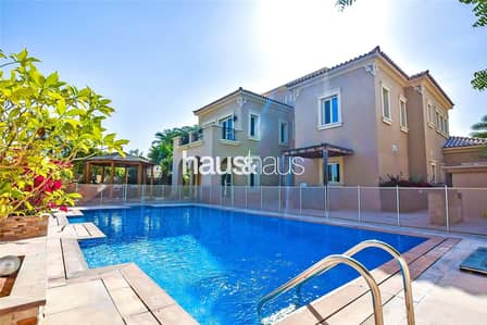 4 Bedroom Villa for Rent in Arabian Ranches, Dubai - Private pool   Stunning garden   Type B2