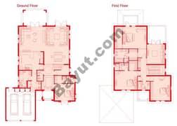 Floors (Ground,1st) 4 Bedroom