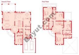 Floors (Ground,1st) 5 Bedroom