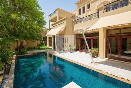 7 Bedroom Villa for Sale in Al Barari, Dubai - Corner Unit | Bromellia B2 | Extended Plot