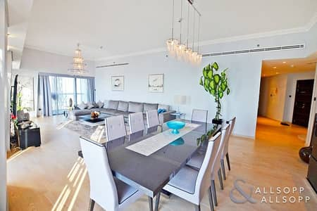4 Bedroom Flat for Rent in Dubai Marina, Dubai - Upgraded | Four Bedrooms | Full Sea View