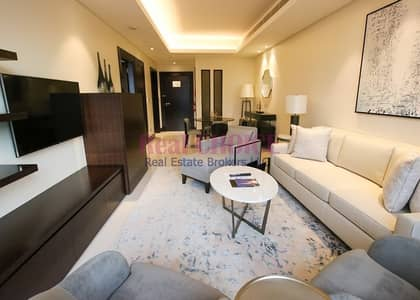 1 Bedroom Hotel Apartment for Rent in Downtown Dubai, Dubai - All Bills Inclusive|Fully Furnished 1BR