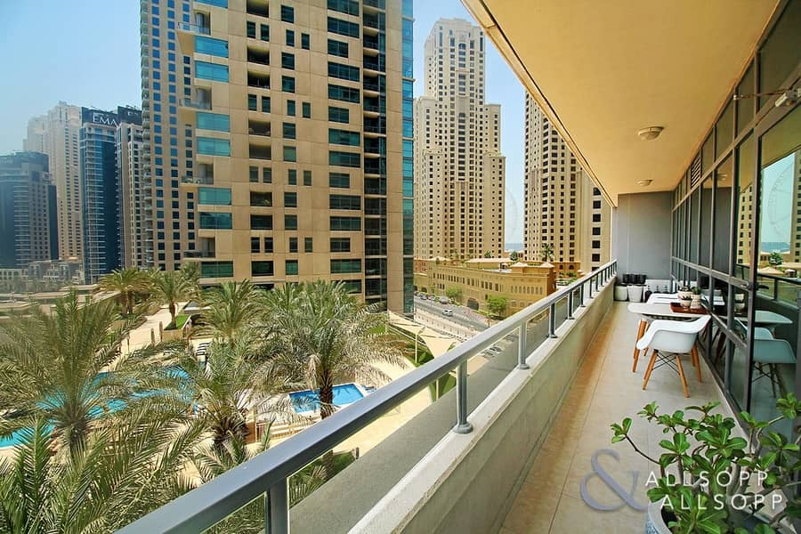 10 Best and Largest 2 Bed | Full Marina View